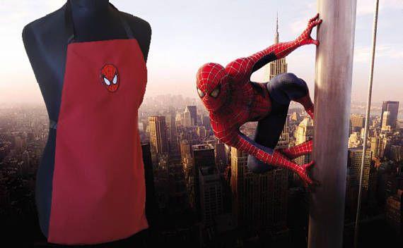 Grembiule per bambini Spiderman children apron
