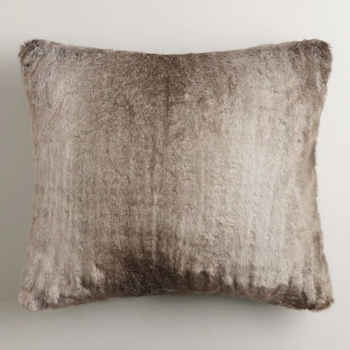 $24.99 One Of My Favorite Discoveries At WorldMarket.com: This Gray Faux Fur  Throw