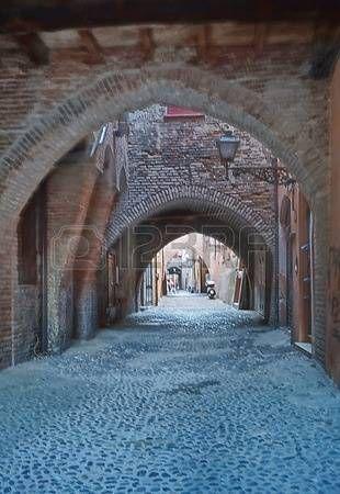Via delle Volte, Ferrara, Italy