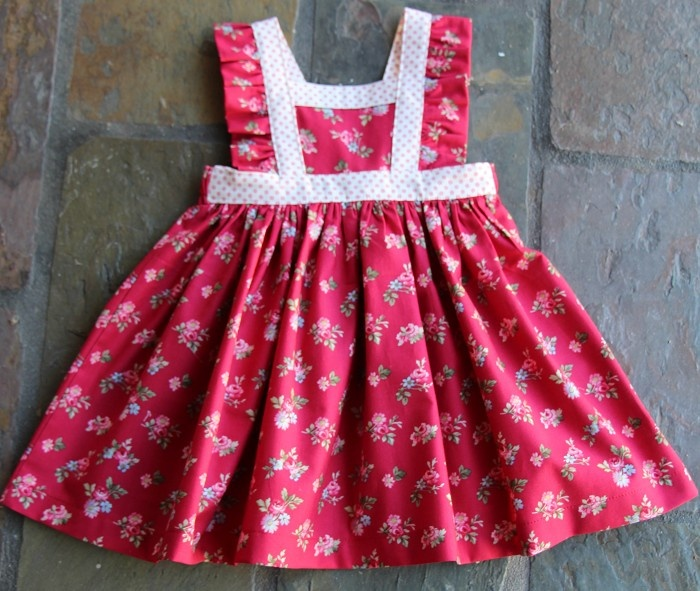 Penelope Boo Design Pinny - by Formonsterandmiss on madeit