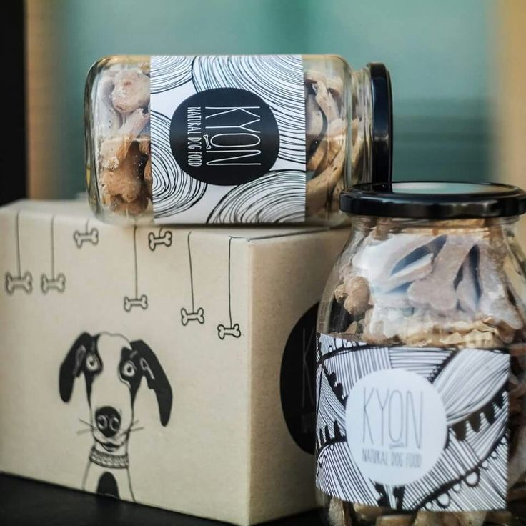 The Kyon jars are posing for the Meet Market! Ready to shop? #dogfood #handmade