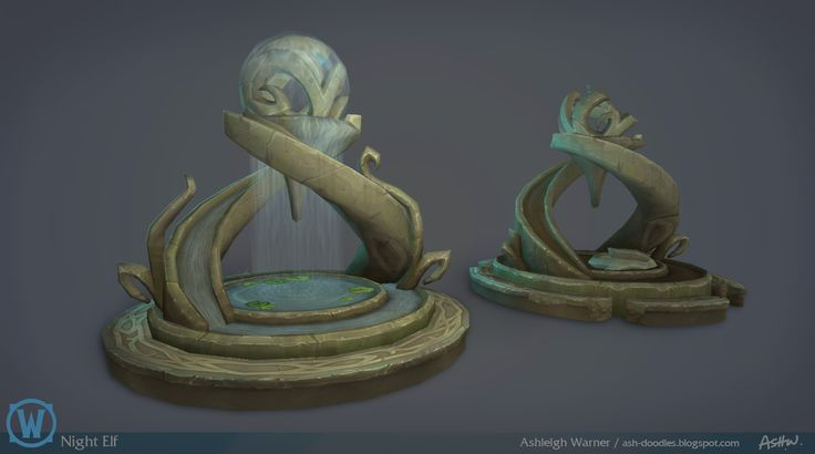 ArtStation - Legion: Night Elf Props, Ashleigh Warner