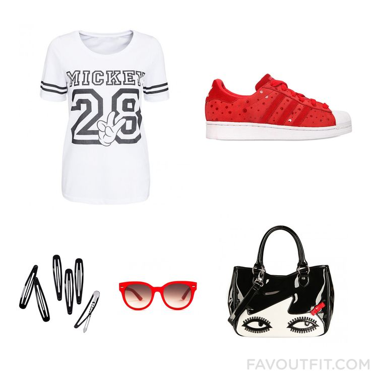 Wardrobe Tricks Including T-Shirt Adidas Originals Tote Bag And Metal Hair Clips From August 2015 #outfit #look
