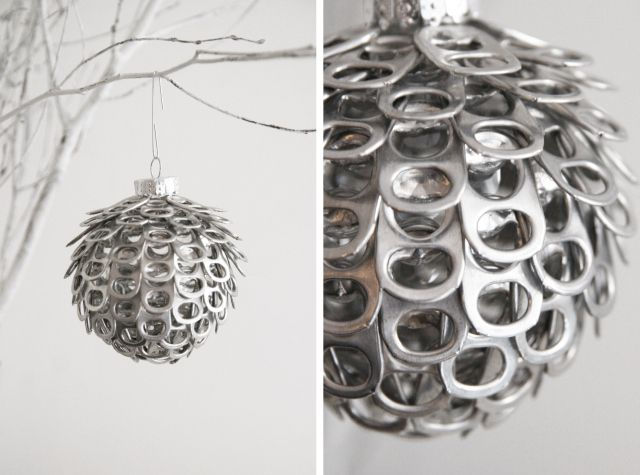 Pop Tab Christmas Ornament