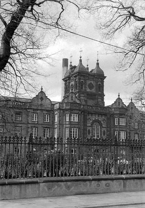 Main Building Of Leeds Workhouse Which Became St James