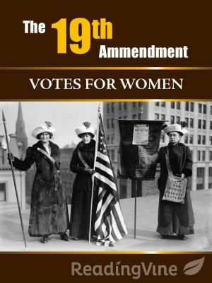 In this reading activity on The 19th Amendment, students will be asked to read a passage and answer questions focusing on main idea and summary skills.