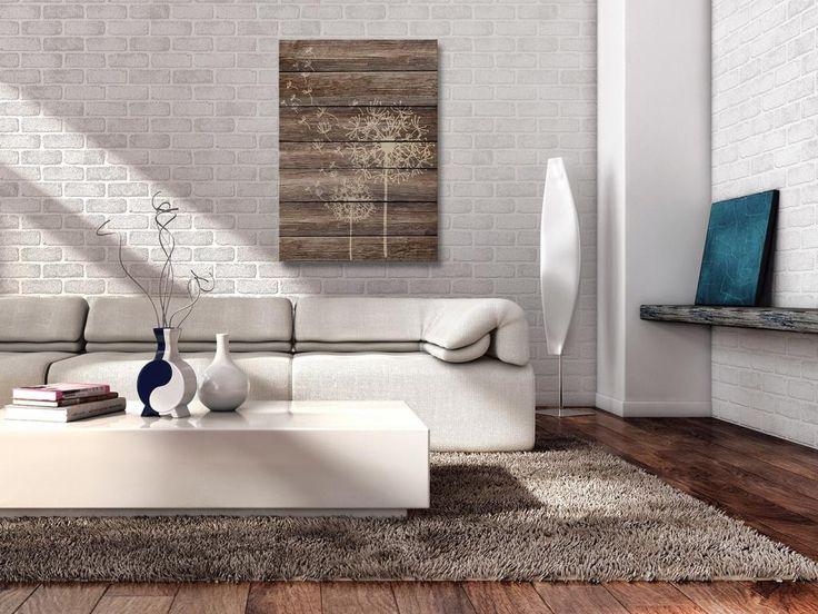 07501 Obraz na płótnie - DMUCHAWIEC drewno - 50x70 (4509731070) - Allegro.pl - Więcej niż aukcje.