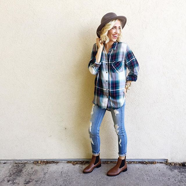 Fall Essentials: Plaid is Rad: Roolee Boutique