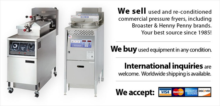 Welcome To Pressurefryers.com