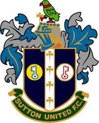 SUTTON UNITED FC  -  SUTTON - london borough of SUTTON