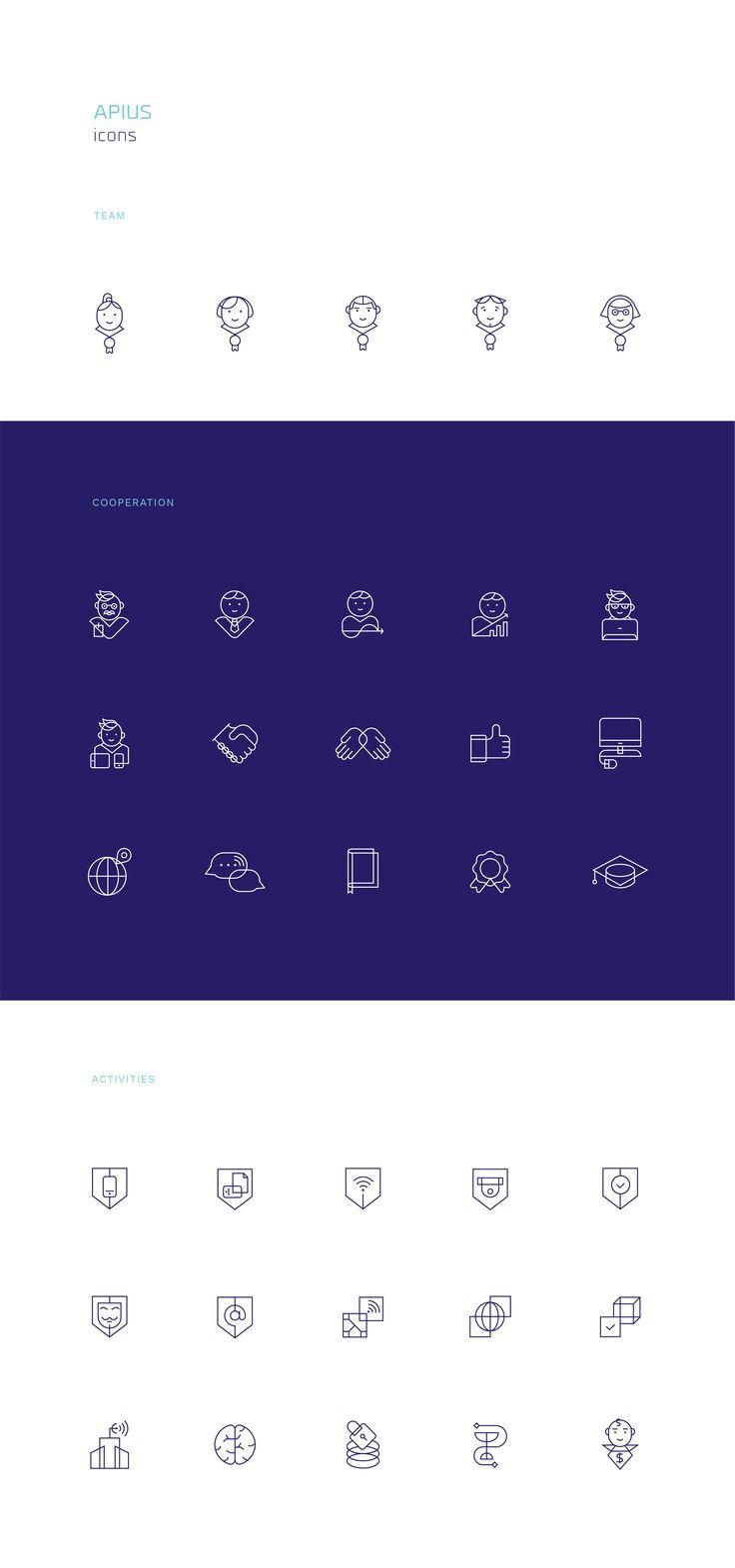 Apius Icon Set #pleo #picto #pictograms #icon #iconset