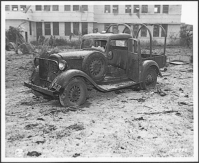 Pearl Harbor Naval Hospital | Pearl Harbor Pictures - Pictures of the Attack on Pearl Harbor