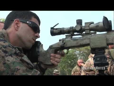 USMC Scout Sniper Combat Marksmanship - M40A5 Sniper Rifle