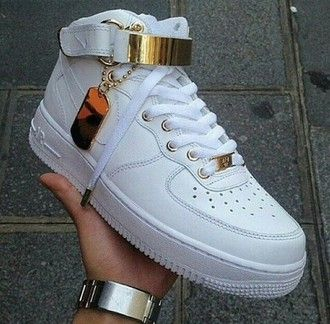 nike high top air force ones