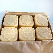 This goat milk soap is amazing.  Beekman 1802.
