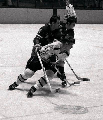 Bobby Orr and Brad Park | Boston Bruins | New York Rangers | NHL | Hockey