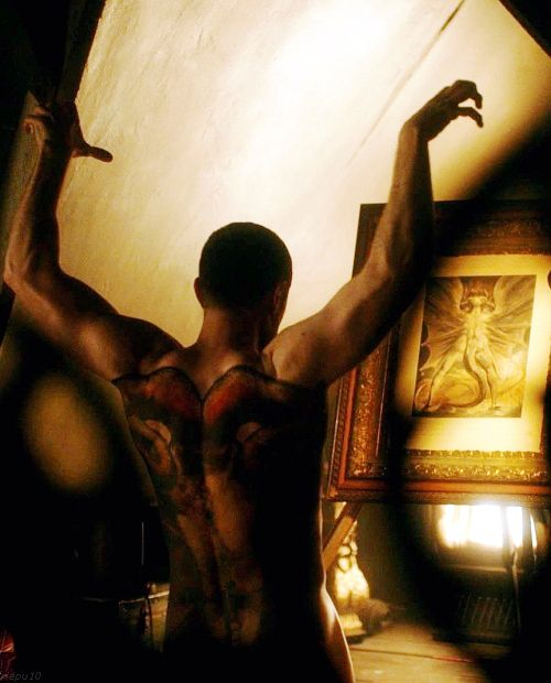 """Richard Armitage as Francis Dolarhyde the Red Dragon, Hannibal season 3 """"... over 73,000 signatures so far... sign the petition to save Hannibal at http://www.change.org/p/nbc-netflix-what-are-you-thinking-renew-hannibal-nbc"""