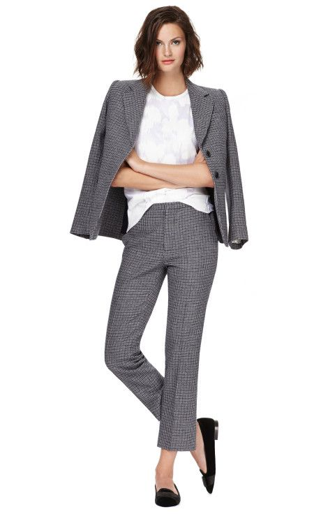 Mini Plaid Menswear Blazer by Marc Jacobs
