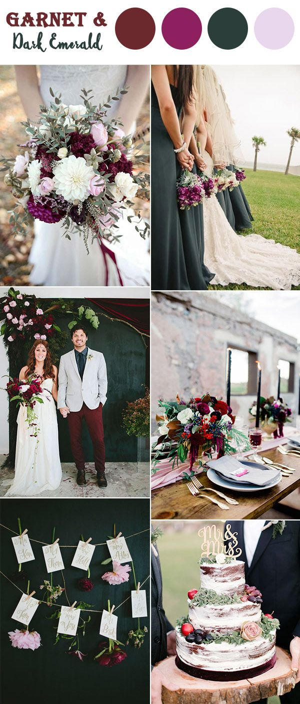 The 10 Perfect Fall Wedding Color Combos To Steal Amazing Wedding