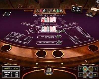 Casino card game point system spa resort casino ca