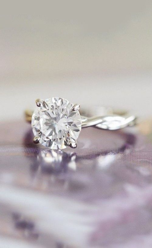 1000 ideas about Twist Engagement Rings on Pinterest
