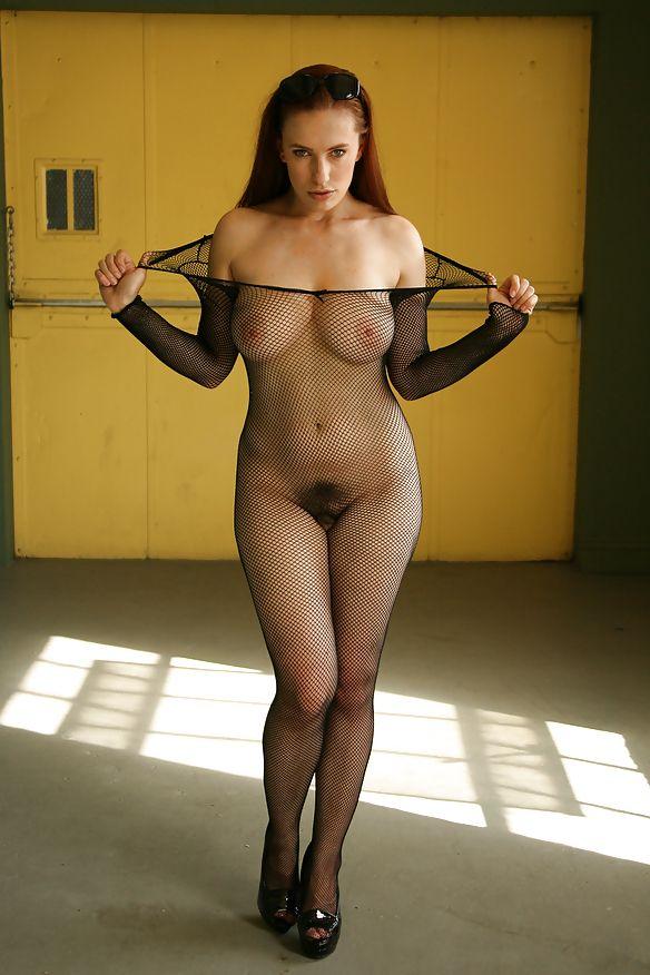 What hot milf sheer body stocking