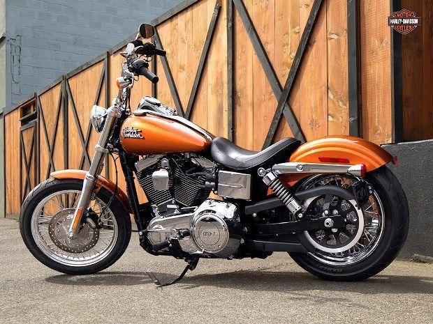 A Montadora Americana Revelou Harley Davidson Dyna Harley Davidson Pictures Harley Davidson
