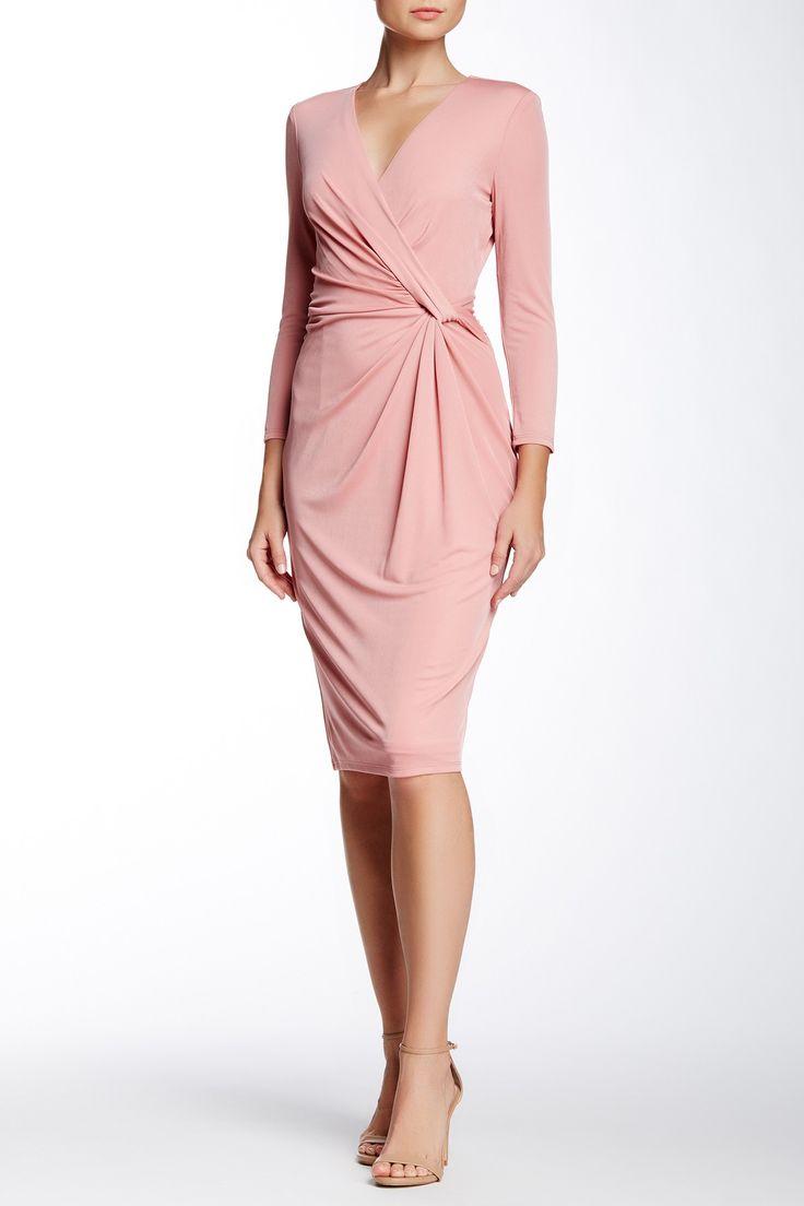 Faux Wrap Dress by Anne Klein on @nordstrom_rack