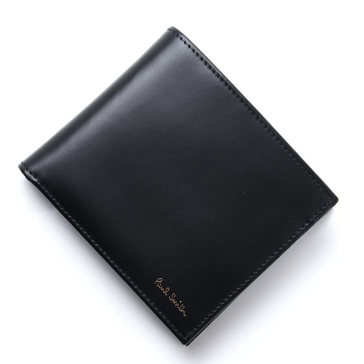 BRAND	ポールスミス/Paul Smith  ITEM	2つ折り財布/MEN WALLET BFOLD COIN  Item No.	asxc4833-w761-b  Color	ブラック系 (COL:BLK)