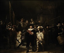 Officers and other civic guardsmen of District II of Amsterdam, under the command of Captain Frans Banninck Cocq andLieutenant Willem van Ruytenburch, known as the 'Night Watch'  1642  Rembrandt Harmensz. van Rijn