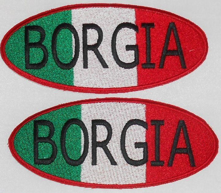 badges borgia