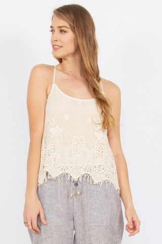 Women's Top Spaghetti Strap Fully Lined $41.99 CAD