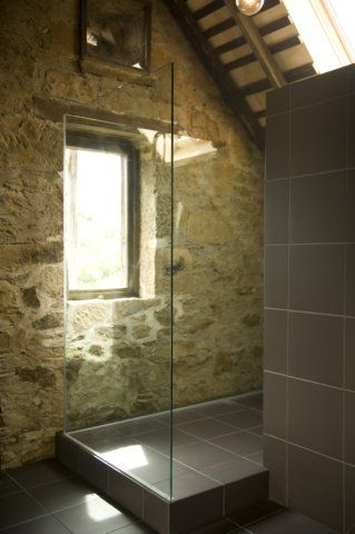 25 best stone barns ideas on pinterest for Barn conversion bathroom ideas