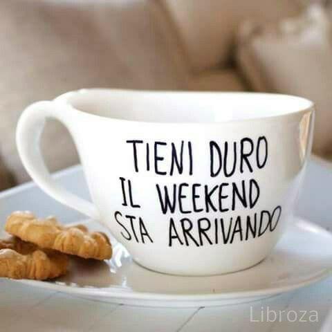 Buon venerdì e buon fine settimana a tutti! Happy weekend - Libroza ...
