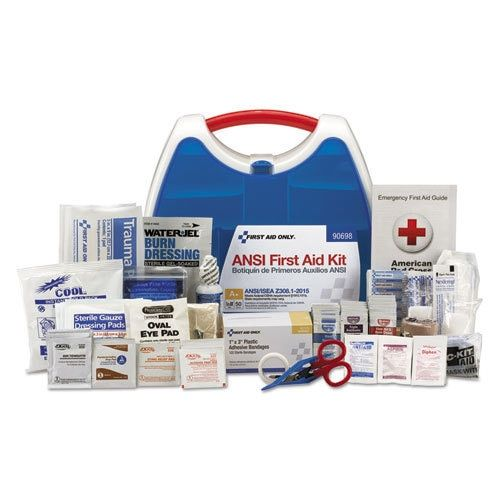 First Aid Only ReadyCare First Aid Kit for 50 People, Ansi A+, 260 Pieces