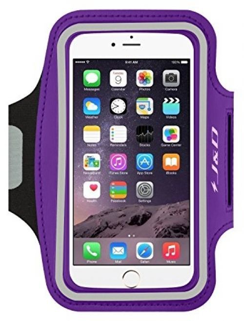 IPhone 6 Armband, J and D Sports Armband For IPhone 6, Key Holder Slot, Perfect #JDTech