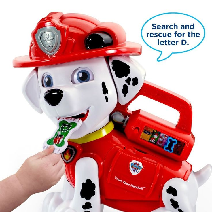 Fun Learning Experience Phonics Letter Color with Paw Patrol Marshall #Vtech