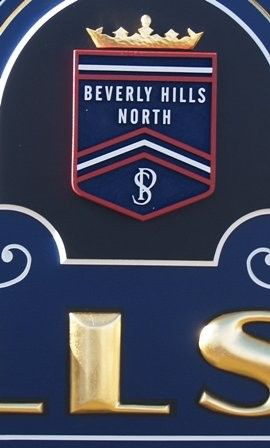 Beverly Hills School Crest / Danthonia Designs