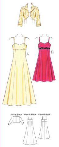 K3736 Misses Dress & Jacket