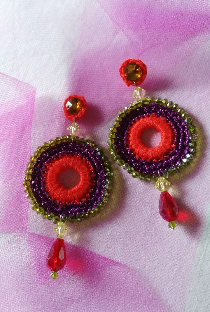 my creative earrings