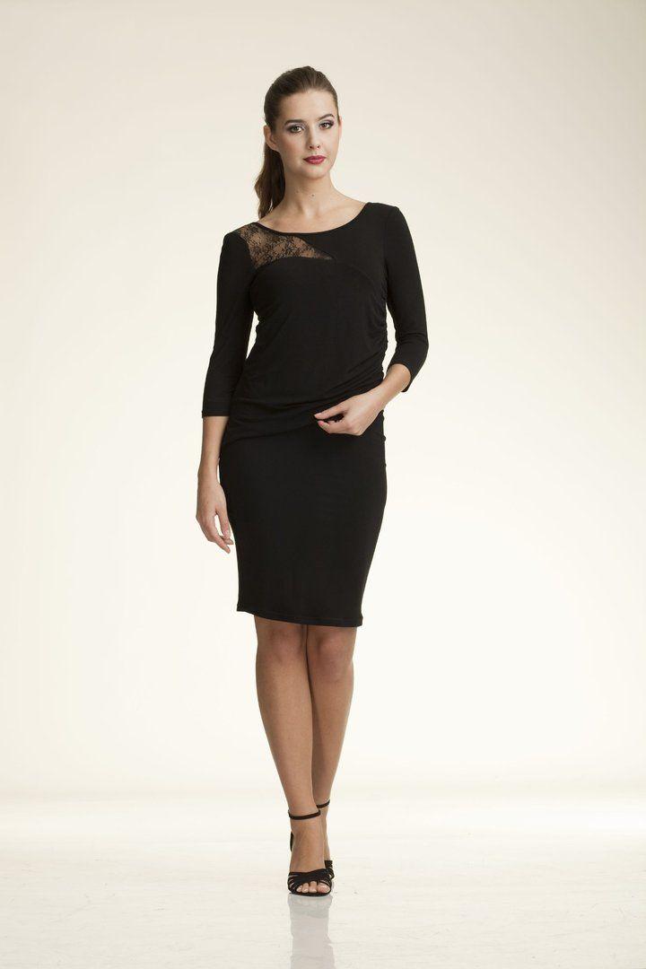 ROXANE. En elegante color negro, ideal para cualquier evento y ocasión.