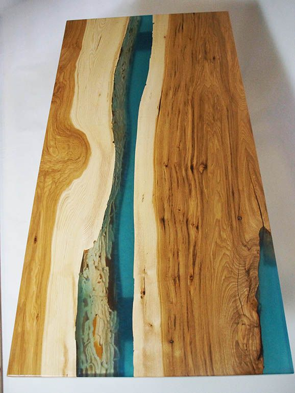 Hickory River Table For Courtney Custom Table Resin Furniture
