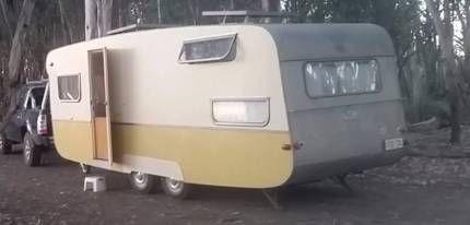 Rare double axle 1950's Bondwood caravan tows like a dream!   Caravans   Gumtree Australia Marion Area - Seacombe Gardens   1128130247