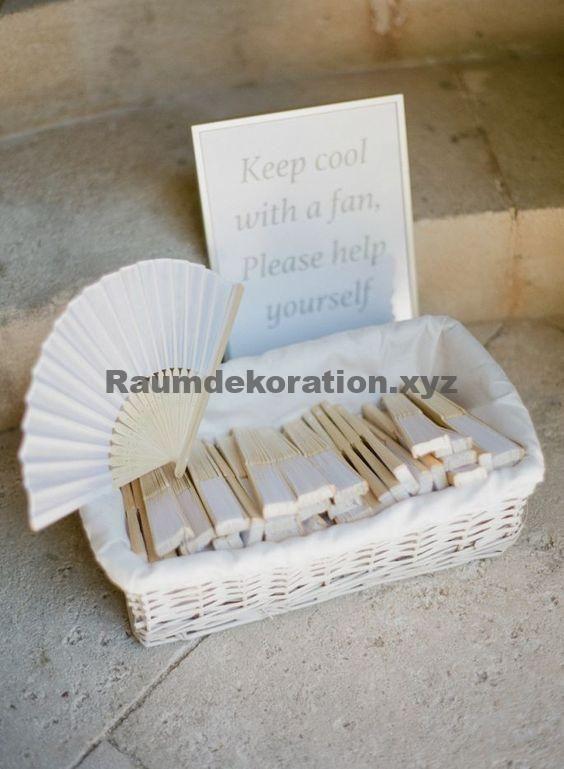 Tischdeko Hochzeit – 22 geniale Ideen für Ihre Hochzeit im Freien