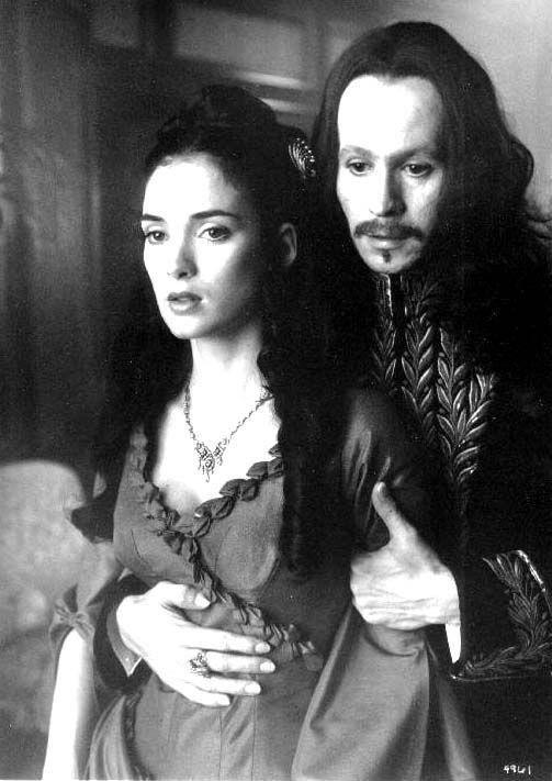 Winona Ryder and Gary Oldman - 'Dracula', 1992. ☚