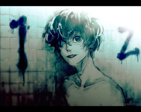 Zankyou no Terror -Twelve. Apparently he has synesthesia.