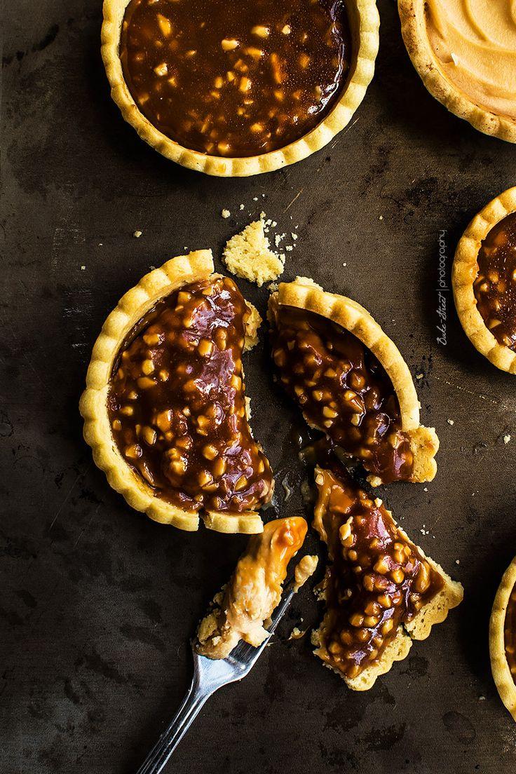 Tartaletas de caramelo y nougat - Bake-Street.com