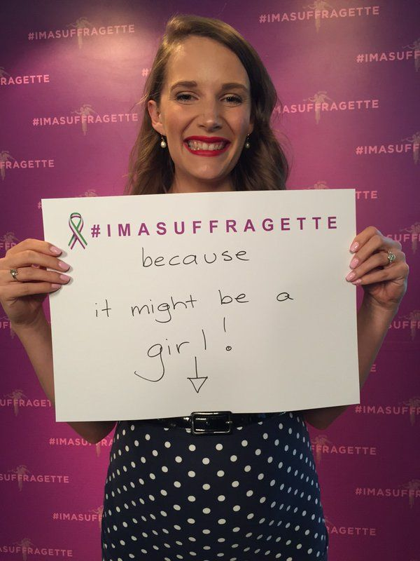 @PollyDunning @JaneCaro #imasuffragette because it might be a girl! #inspiringwomen #suffragette https://t.co/Or43siFSLp