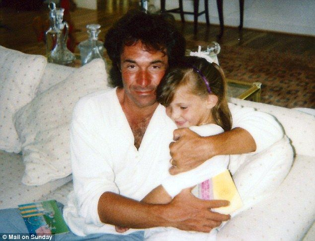 Bill Hudson and Goldie Hawn | Loving arms: Bill Hudson with a young Kate in the early eighties. He ...