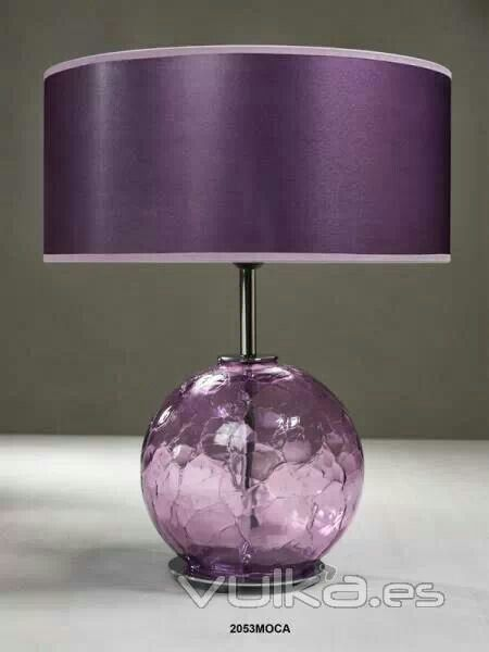 Lovely Lavender Lamp!